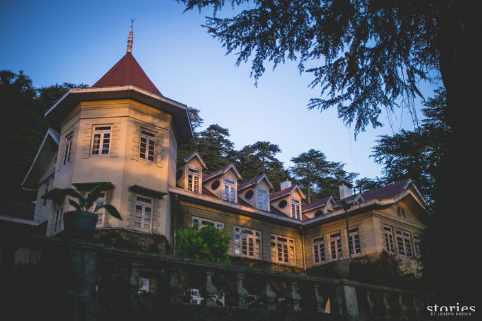 Woodville palace shimla wedding invitations