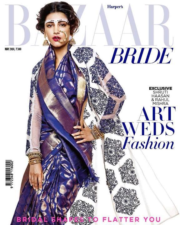 Harper's Bazaar Bride India Covers: Edgy To Easy, Breezy