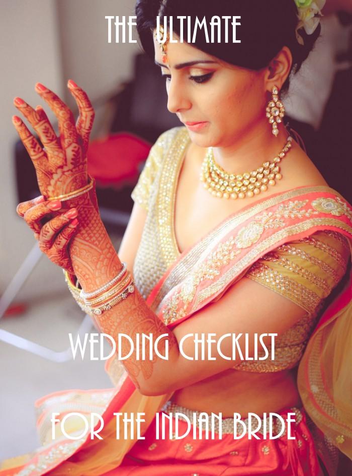 punjabi wedding checklist � mini bridal