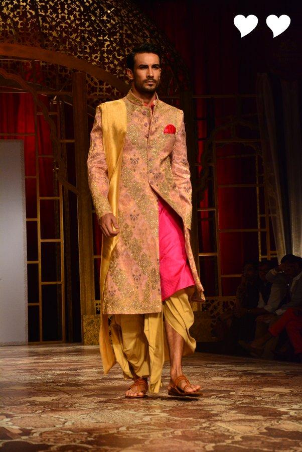 Raghavendra Rathore S Collection At India Bridal Fashion