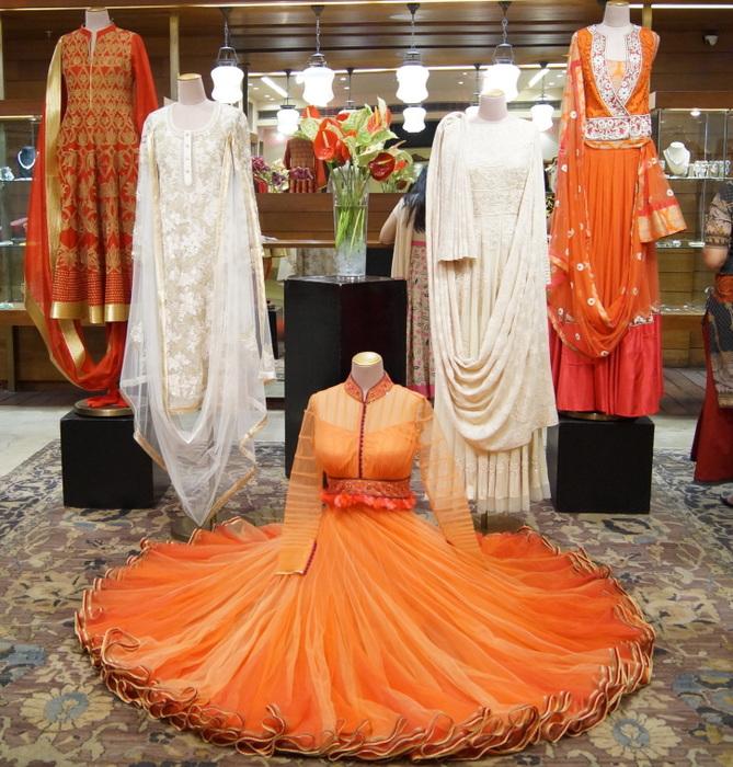 Inside The Ensemble Store In Delhi: Summer 2014 Bridal
