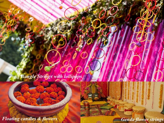 DIY decor ideas for your Mehendi! (Three cheap, chic