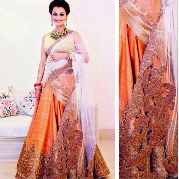 6f5c151d87 Inside Dia Mirza s Wedding  Outfit Photos!