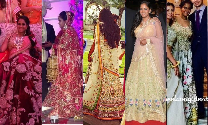 Inside the Arpita Khan Wedding: Who wore what + a snippet ...