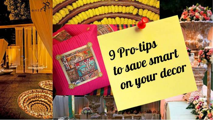 Super Smart Tips To Save On Your Wedding Decor Straight From The