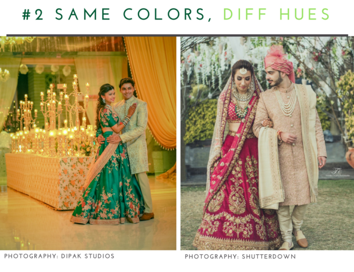 The Inside Guide To Co Ordinating Outfit Colors For Bride