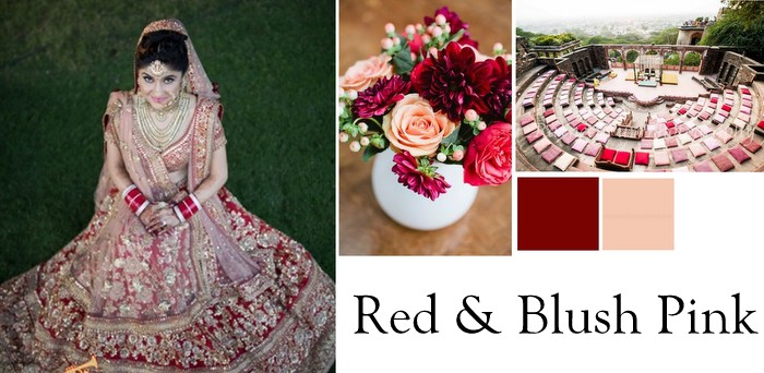 4 Wedding Color Combinations to bookmark for 2015! | WedMeGood