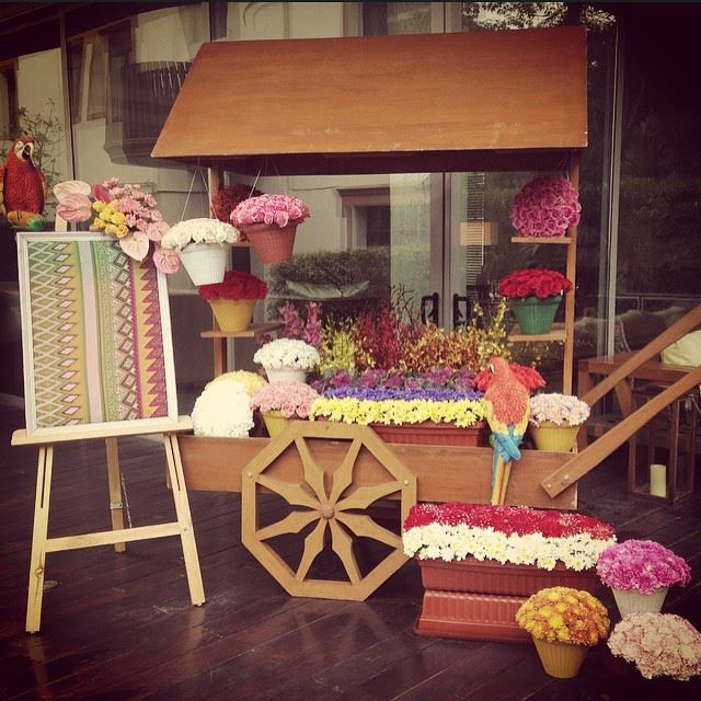 The Decor Prop For Spring 2015 Weddings Is The