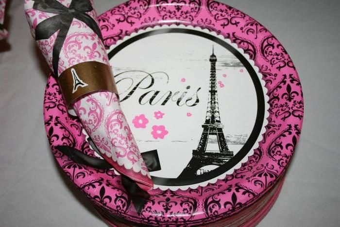 A pink and gold Paris themed wedding shower WedMeGood Best