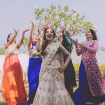 a madh island wedding with the funkiest baraat ever