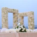 White and gold wedding at the Turf Club, Mumbai