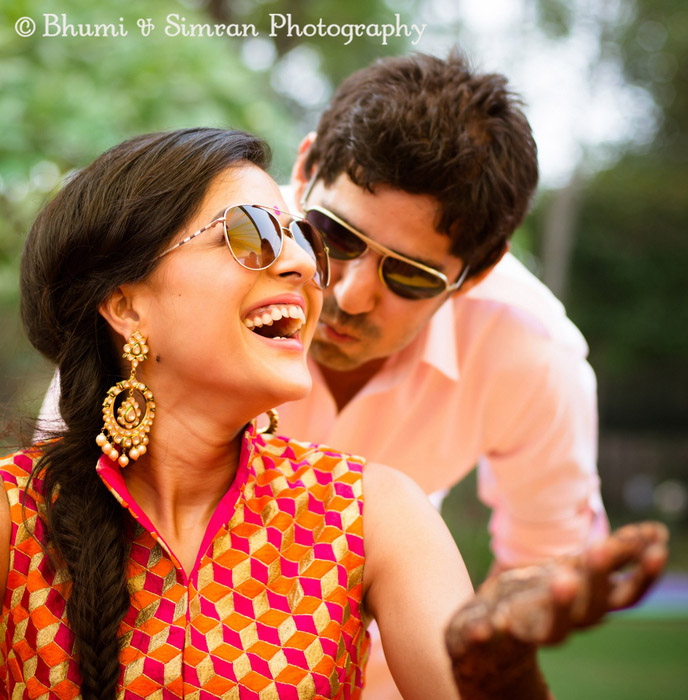 vj gaurav kapurs intimate wedding in chandigarh wedmegood