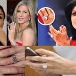 Princess-Cuts And Platinum – Best Hollywood & Bollywood Engagement Rings To Gawk At!