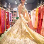 Red carpet bride at Jade by Monica & Karishma: Subtle Beauty!