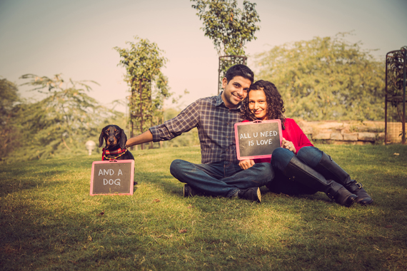 Pre Wedding Styles: 9 Cute Ways To Involve Your Pets At Weddings! (Cho Chweet