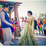 Super Fun Jaipur Wedding With a Music Festival Vibe!