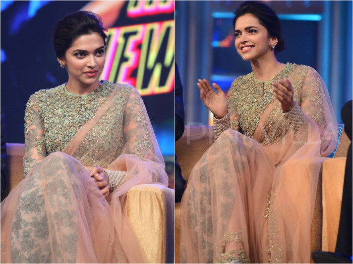 10 Blouse Ideas from Deepika Padukone that You Can Give to ...