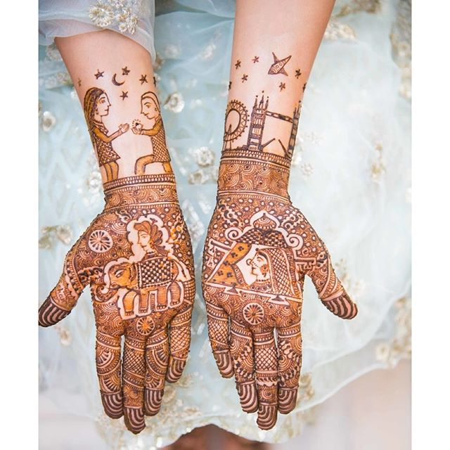 The Most Unique Mehendi Designs From Real Brides Wedmegood