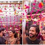 "#BridalEntry: 14 Creative Ways To Do ""Phoolon Ka Chaddar"" Differently!"