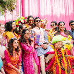 Sunshine-y Delhi Wedding With Bursts of Colour!