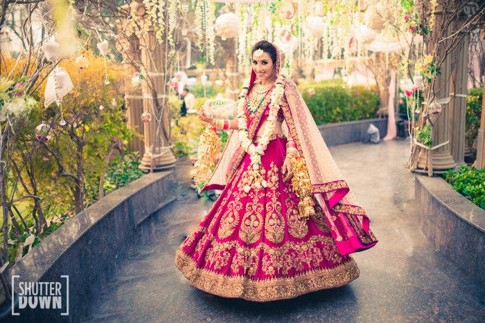 Chic Delhi Wedding With A Parisian Feel