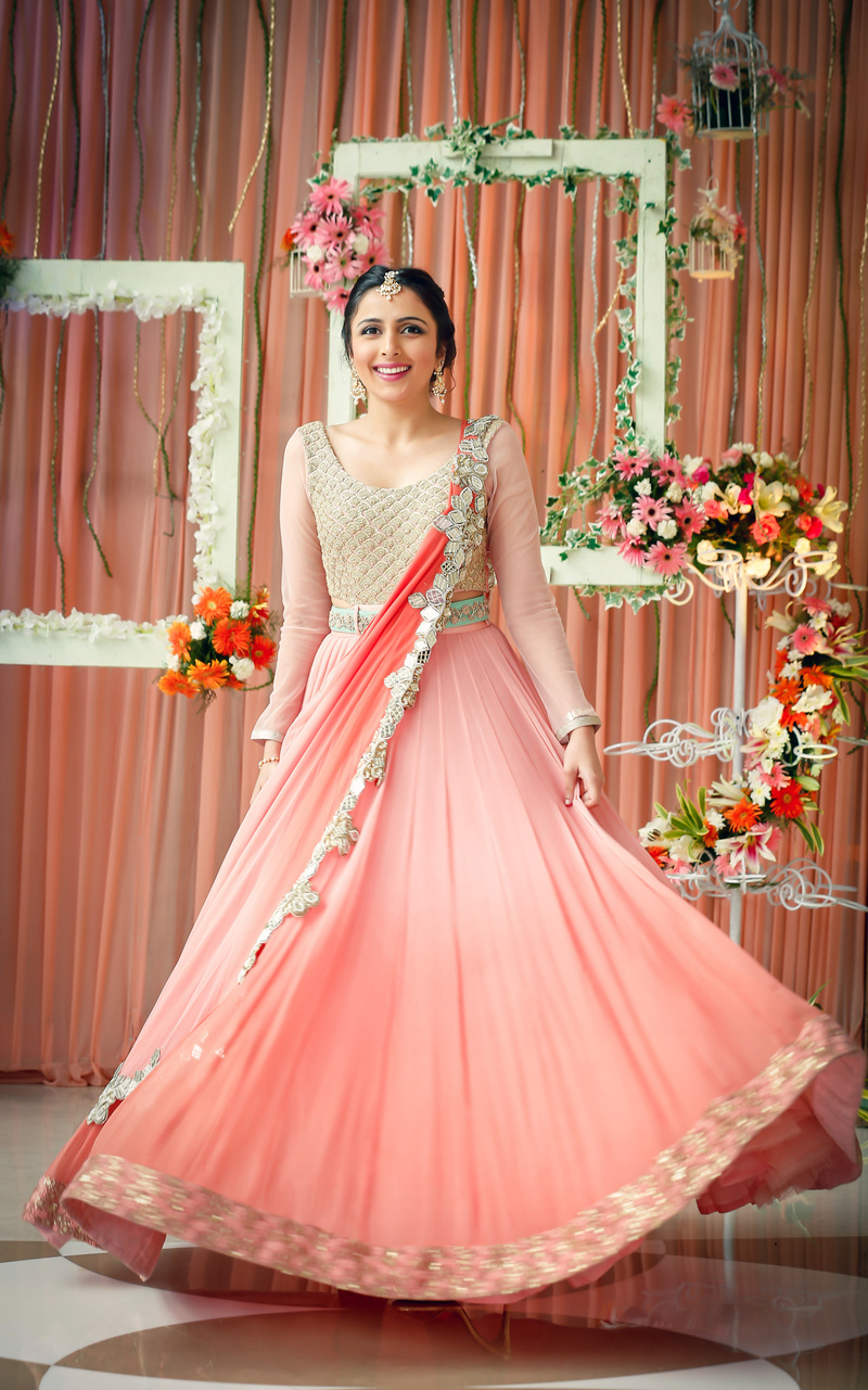The Prettiest Pastel Engagement Outfits we Spotted Recently! | WedMeGood - Best Indian Wedding ...