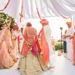 Beautiful Goa Wedding With a Pastel Bride And Her Chic Wardrobe!