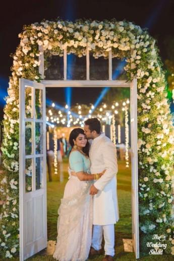 Ishita & Nikunj, Rustic Indian wedding, vintage decor, radisson blu alibaug, The wedding salad-102