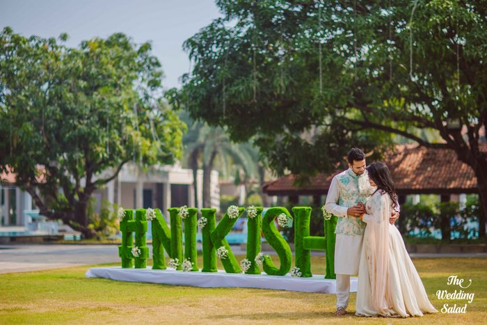 Ishita & Nikunj, Rustic Indian wedding, vintage decor, radisson blu alibaug, The wedding salad-25