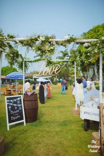 Ishita & Nikunj, Rustic Indian wedding, vintage decor, radisson blu alibaug, The wedding salad-28