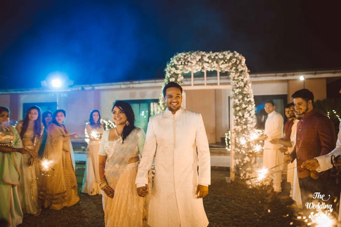 Ishita & Nikunj, Rustic Indian wedding, vintage decor, radisson blu alibaug, The wedding salad-33
