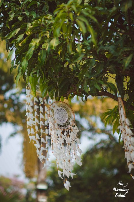 Ishita & Nikunj, Rustic Indian wedding, vintage decor, radisson blu alibaug, The wedding salad-35