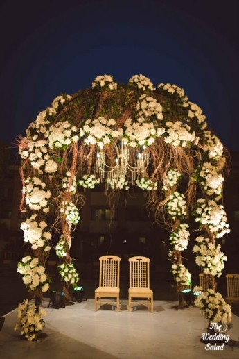 Ishita & Nikunj, Rustic Indian wedding, vintage decor, radisson blu alibaug, The wedding salad-40