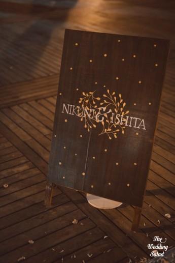 Ishita & Nikunj, Rustic Indian wedding, vintage decor, radisson blu alibaug, The wedding salad-41