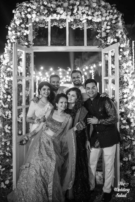 Ishita & Nikunj, Rustic Indian wedding, vintage decor, radisson blu alibaug, The wedding salad-51