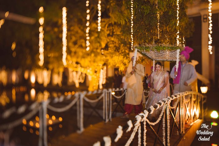 Ishita & Nikunj, Rustic Indian wedding, vintage decor, radisson blu alibaug, The wedding salad-75
