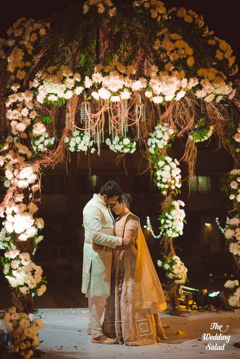 Ishita & Nikunj, Rustic Indian wedding, vintage decor, radisson blu alibaug, The wedding salad-84