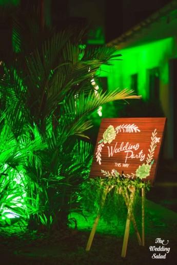 Ishita & Nikunj, Rustic Indian wedding, vintage decor, radisson blu alibaug, The wedding salad-9