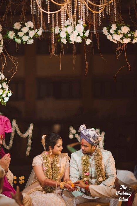 Ishita & Nikunj, Rustic Indian wedding, vintage decor, radisson blu alibaug, The wedding salad-92
