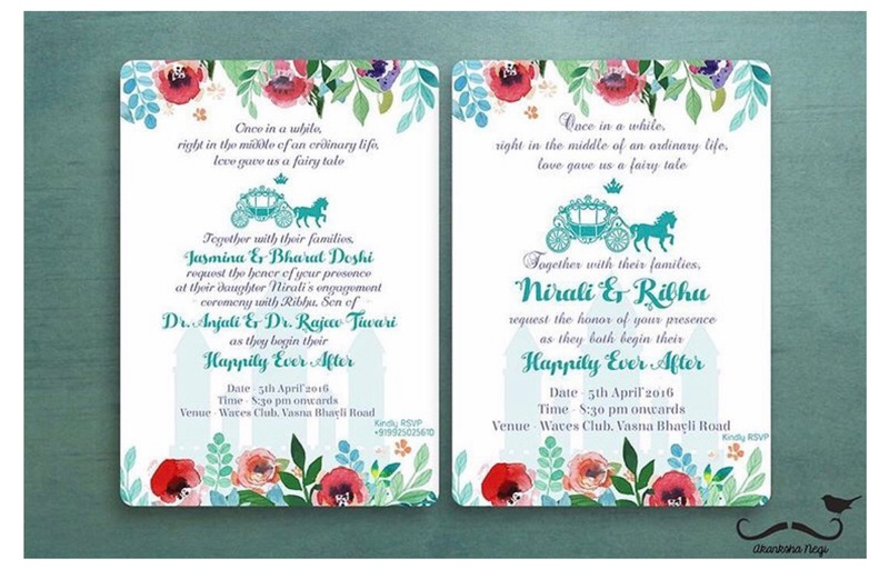 Unique Indian Wedding Card Wordings For Your 2017 Wedding