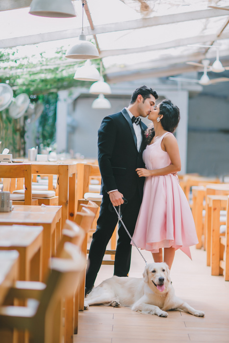 The Beauty And The Geek - This Cutesy Pre-Wedding Shoot Is ...