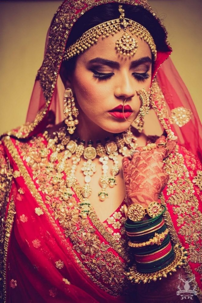 8 Brides Who Rocked The Most Exquisite Artificial