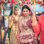 A Colourful Wedding In Goa With A Bride in Deep Red!