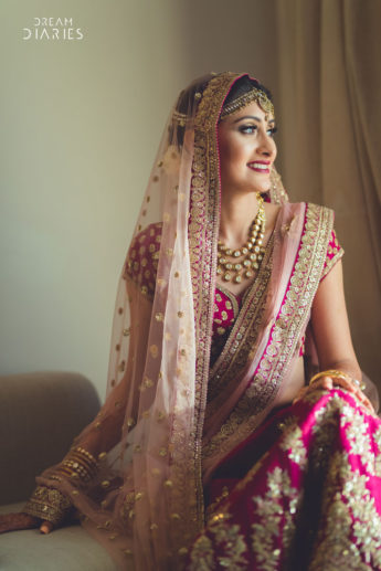 Glamorous Destination Wedding With A Regal Bride