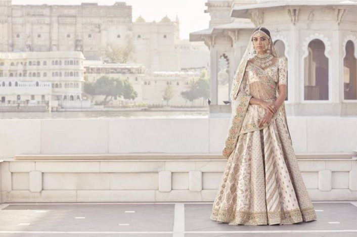 Beige Dress Picture Collection: Sabyasachi Lehenga Price : So, How Much Does A Sabya