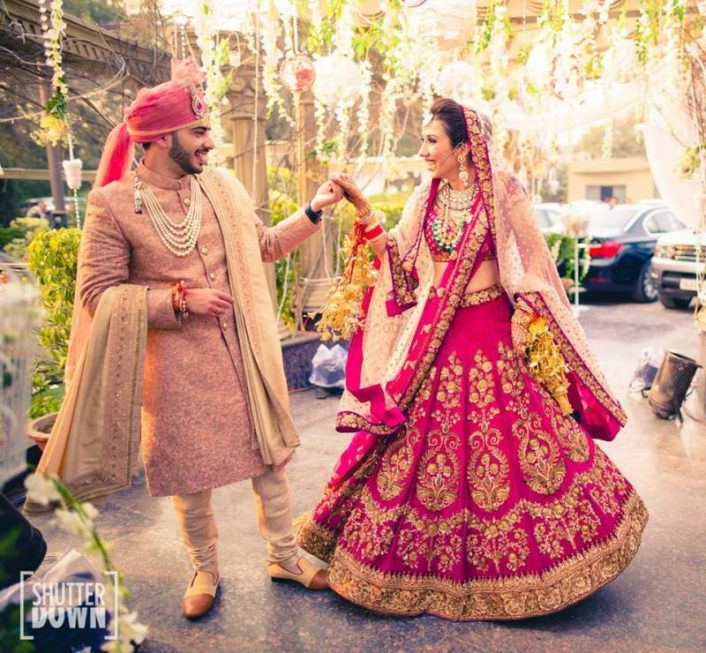 Our Favourite Bride And Groom Colour Combinations That