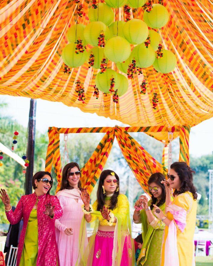 How To Create A Mehendi Set Up Under 25k With Diys