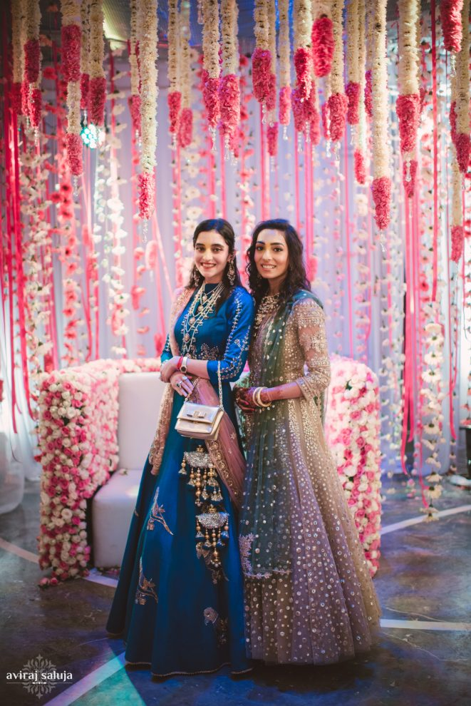 These Sisters Of The Bride Came With Enviable Wardrobes
