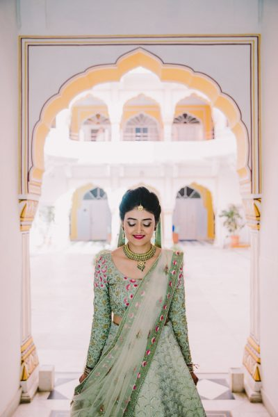 10 wmg brides who wore lehenga colours we cannot describe
