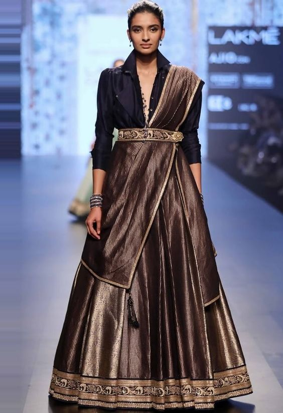 6 ways to wear a shirt with your lehenga